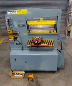 Scotchman 6509 Hydraulic Ironworker 65 Ton With Tooling 24 Brake