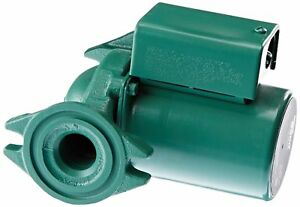 Pump Circulator Cast Iron Taco Quiet Hydronic Boiler Replacement Heating 1 25 Hp