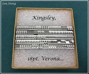 Kingsley Machine 18pt Verona Hot Foil Stamping Machine