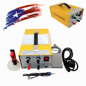 Safe Use 2in1 Jewelry Pulse Sparkle Spot Welder Electric Jewelry Welding Machine