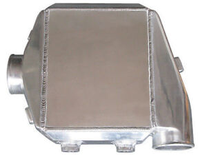 Air To Water Intercooler 16 X11 X4 5 4 5 Thick 3 Air Inlet Outlet Boost