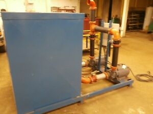 Water Treatment Control System Pump cooling Tower Evandtec Smw Includes Tanks