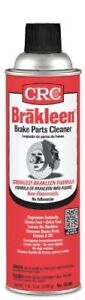 Crc Brakleen Brake Parts Cleaner 091314 05089 Non Flammable Solvent