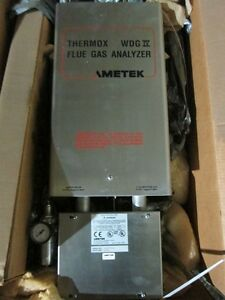 Ametek Thermox Wdg Iv Flue Gas Analyzer