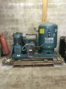 Curtis 25hp 120 Gallon 3 Phase Air Compressor