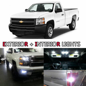 Led Exterior Package Kit Fog Bulb Xenon White 8pc For Ram 2500 Hd Heavy Duty R7