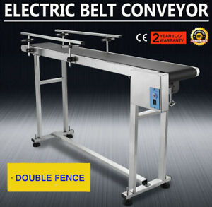 Automatic 59 X 7 8 Pvc Belt Conveyor Ind Auto Systems Equipment Machine