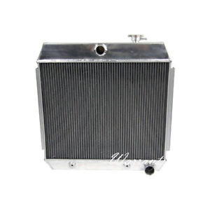 3row Aluminum Radiator For 1955 1957 Chevrolet Chevy Bel Air 210 150 V8 Us