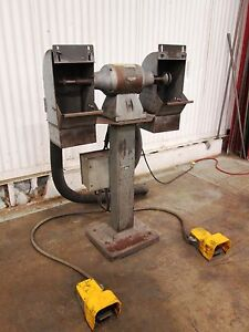 Pedestal Buffing Machine Used Am15683