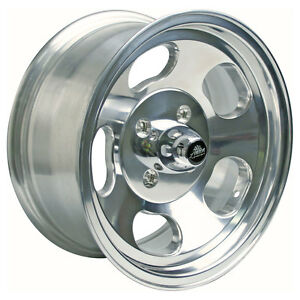 American Racing Vna695748 Mustang Ansen Sprint Wheel 15 x7 Polished 4 lug 1965