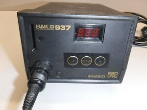 Hakko 937 Soldering Station With 907 Pencil No Key