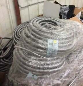Reduced Wall Aluminum Flexible Metal Conduit 3 4 In 100 Ft