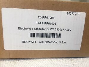 Rockwell Automation Allen bradley 20 pp01005 Electrolytic Capacitor Nib