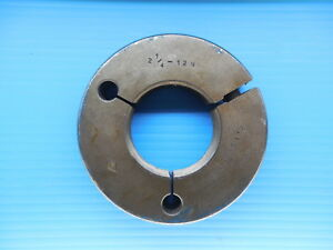 2 1 4 12 N Thread Ring Gage 2 25 Go Only P d 2 1959 Inspection Quality Tools