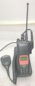 Motorola Xts 5000 Police Fire Ems Digital Radio W Dock Charger Battery