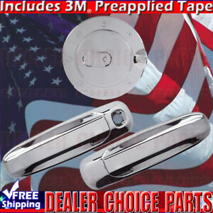 2002 2008 Dodge Ram 1500 2003 2009 2500 3500 Chrome Door Handle Covers Nopk Gas