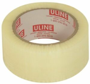 New Uline S 119 Clear 2x110 Yd Tape Sealing Free Shipping