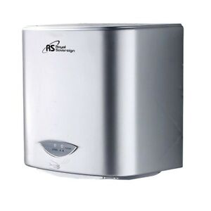 110 Volt Gray Touchless Auto Sensor Hands free Automatic Electric Hand Dryer New