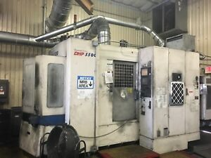 Doosan Dhp 5500 Cnc Mill Full 5axis