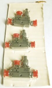 Microwave Directional Coupler 10db Vintage Narda 23742 3 Pieces