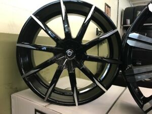 24 Inch Lexani Css 15 Rims And Tires wheels Fit Chevy Gmc Escalade Infiniti
