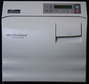 Ritter By Midmark M9 Ultraclave Automatic Autoclave 1 Year Warranty 90 Cycles