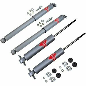 Kyb Shock Absorber And Strut Assemblies Set Of 4 Front Rear Set kykg5458 c
