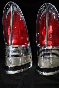 1955 56 Packard Tail Light B u Assemblies Very Nice