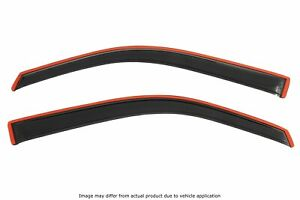 Avs Rainguards For 16 18 Honda Civic Coupe Smoked In channel 2pc 192173