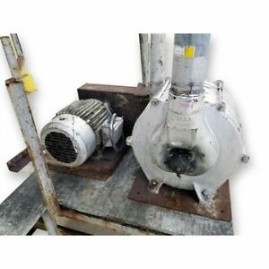 Used Multi stage Centrifugal Vacuum Blower Producer 5 Stage