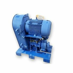 1 5 X 1 Weir Warman B ah Metal lined Horizontal 15 Hp Centrifugal Slurry Pump