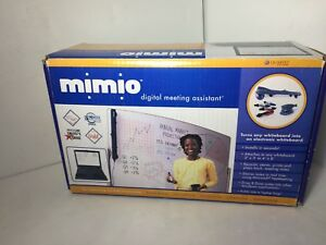 Mimio Digital Meeting Assistant Virtual Ink Whiteboard Scanner In Box