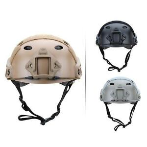 Military Tactical Airsoft Paintball SWAT Base Jump Protective Fast Helmet CZ #K1