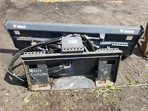 Bobcat 80 Inch 6 Way Dozer Blade For Skid Steer With Universal Controller