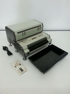 Akiles Coilmac epi41 Electric Coil Punch Binding And Inserter Machine Acm epi41