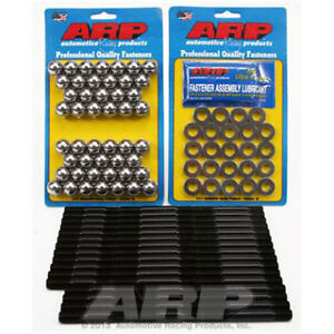 Arp 154 4104 F 100 Head Stud Kit For Use With Flathead V8 Engine With Offenhause