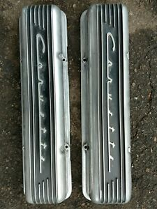 1959 To 1967 Corvette Valve Covers Oem With Seam