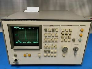 Anritsu Ms96a Optical Spectrum Analyzer 600 1 600 Nm Ando