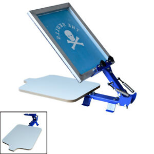 Screen Printing Equipment 1 Color T shirt Screen Printing Machine Starter Tool