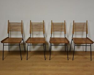 Shovel Chairs By Paul Mccobb For Winchendon Set Of 4 Mid Century Modern