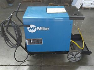Miller Cp302 Welder Power Source Arc Mig 2014