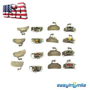 40pc Easyinsmile Dental Buccal Tube Orthodontic Bracket Bondable Non convertible