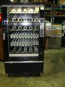 National 145 Crane 145 Candy Chips 5 Wide Snack Machine 213