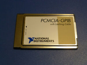 National Instruments Pcmcia gpib Interface Card 186736c 01