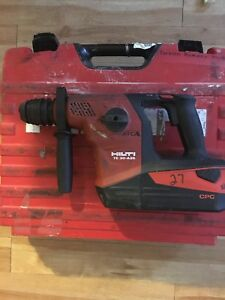 Hilti Cordless Sds Hammerdrill Te 30 a36 With Battery