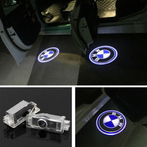 Car Door Projector Led Laser Lamp Puddle Welcome Logo Lights For Bmw X1 X3 X5 X6