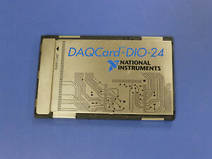 National Instruments Daqcard dio 24 Pcmcia Ni Daq Card Digitial I o
