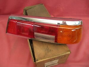 Nos Mercedes benz 110 111 Euro Right Tail Lamp Lens Fin Tail Oem 110 820 12 66