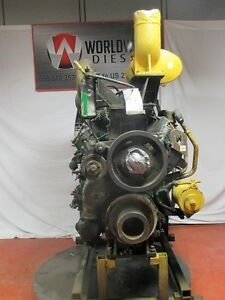 Cat 3408di Diesel Engine Take Out Turns 360 Engine Is Good For Rebuild Only