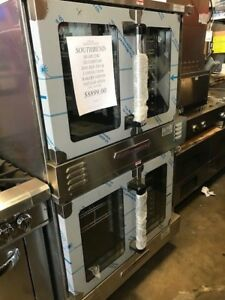 Southbend nat Gas Convection Oven double Stack Silverstar Slgb 22sc 1 Phase